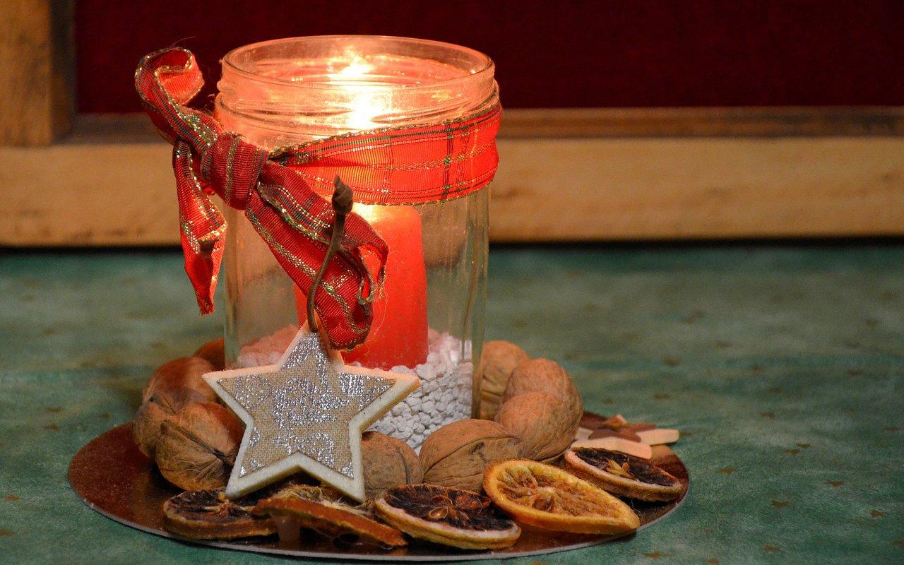decoraciones navidenas, ecoherbes