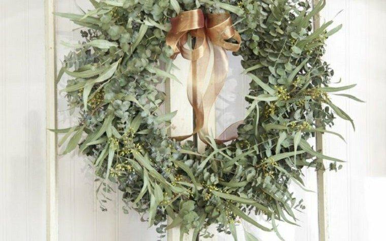 decoraciones navidad corona, ecoherbes