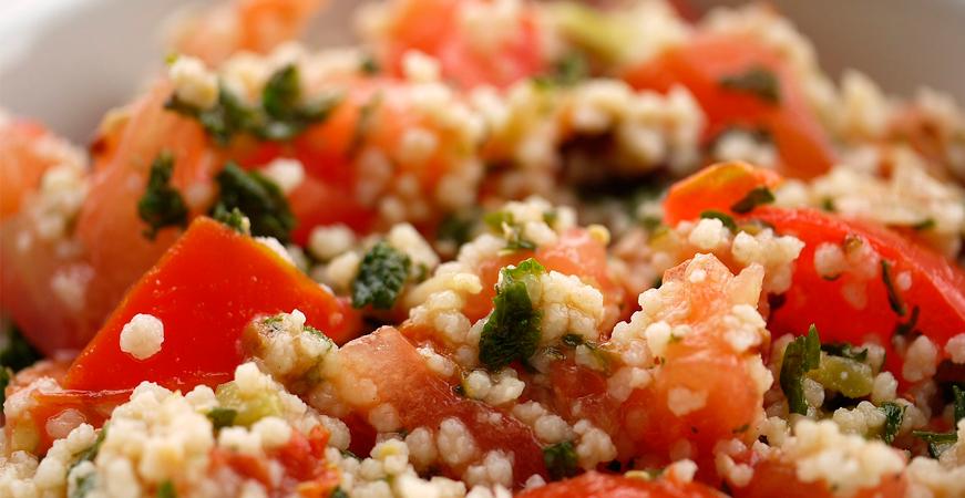 recetas con cilantro cuscus de verduras