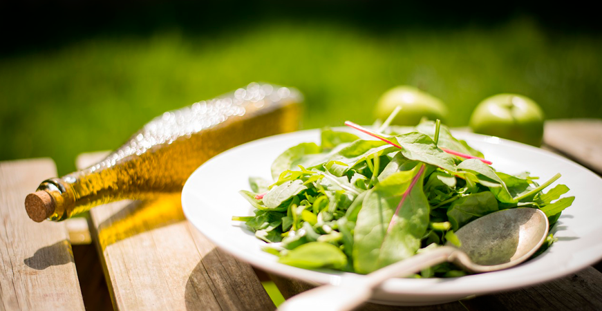 ensaladas de primavera mezclum ecoherbes