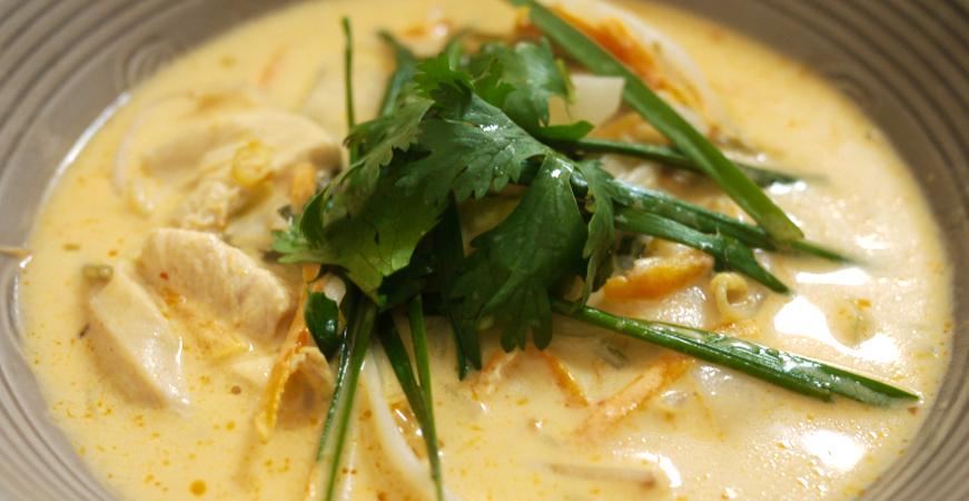 recetas con cilantro sopa thai